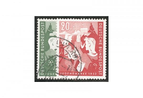 Briefmarken BRD Jugend 1952 Michel-Nr. 153-154 gestempelt