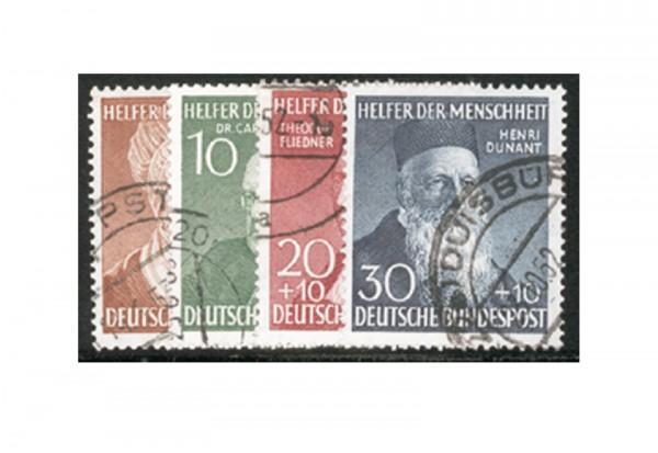 Briefmarken BRD Wohlfahrt 1952 Michel-Nr. 156-159 gestempelt