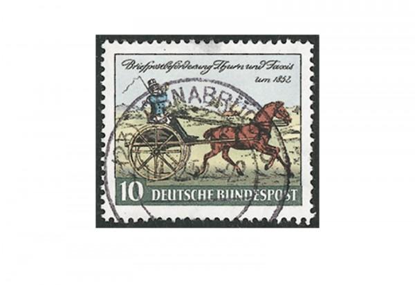Briefmarke BRD Thurn und Taxis 1952 Michel-Nr. 160 gestempelt