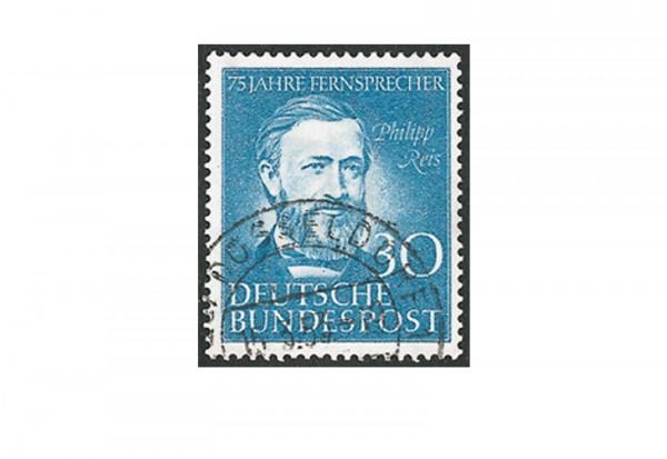 Briefmarke BRD 75 Jahre Fernsprecher 1952 Michel-Nr. 161 gestempelt