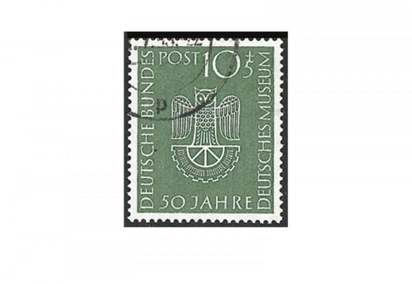 Briefmarke BRD 50 Jahre deutsches Museum 1953 Michel-Nr. 163 gestempelt