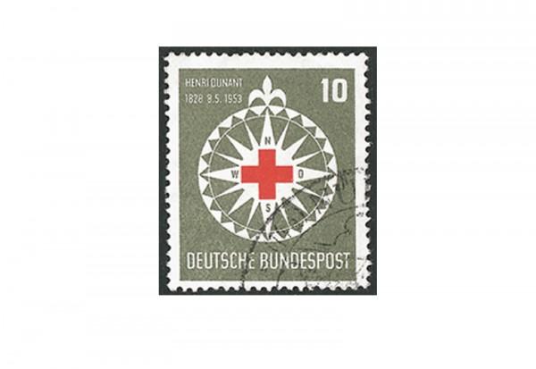 Briefmarke BRD Henri Dunant 1953 Michel-Nr. 164 gestempelt