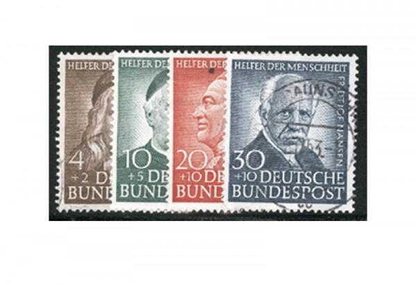Briefmarken BRD Wohlfahrt 1953 Michel-Nr. 173-176 gestempelt