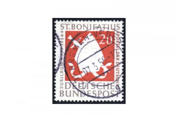 Briefmarke BRD St. Bonifatius 1954 Michel-Nr. 199 gestempelt