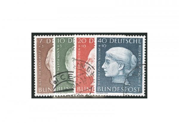 Briefmarken BRD Wohlfahrt 1954 Michel-Nr. 200-203 gestempelt