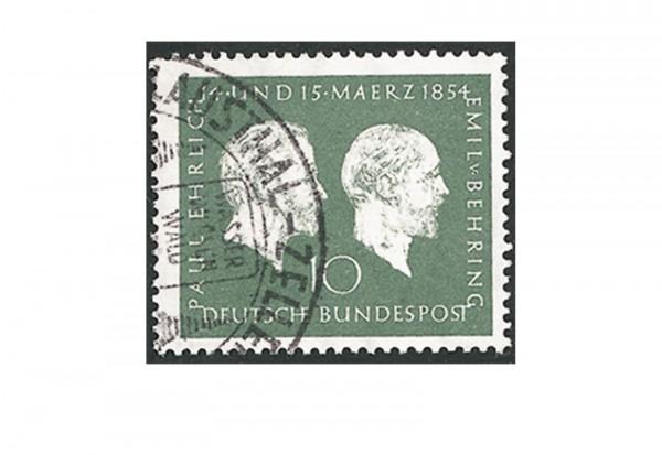 Briefmarke BRD Ehrlich/Behring 1954 Michel-Nr. 197 gestempelt