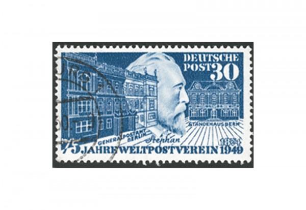 Briefmarke BRD 75 Jahre Weltpostverein 1949 Michel-Nr. 116 gestempelt