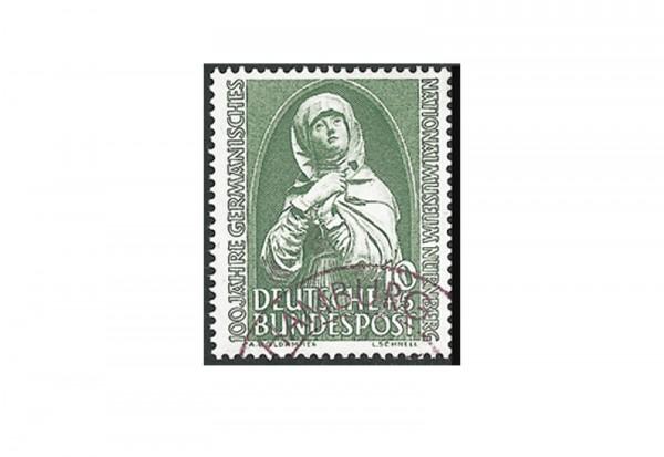Briefmarke BRD 100 Jahre Germanisches Museum 1952 Michel-Nr. 151 gestempelt