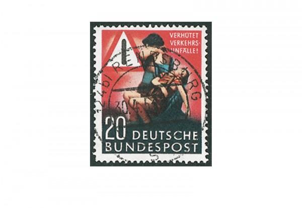 Briefmarke BRD Unfallverhütung 1953 Michel-Nr. 162 gestempelt