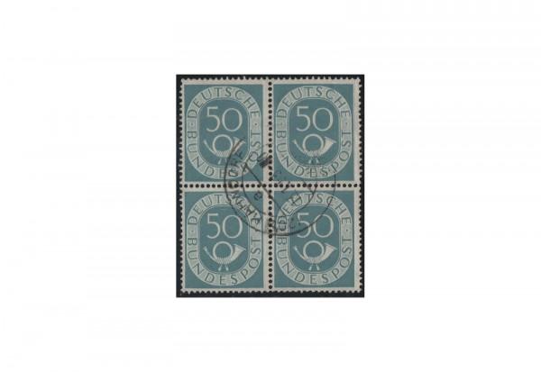 Briefmarken BRD Viererblock Michel-Nr. 134 gestempelt