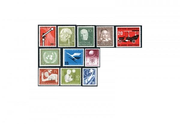 BRD 50er Jahre Top Lot postfrische Marken beinhaltet: