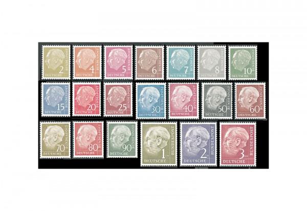 Briefmarken BRD Heuss I-III Komplett-Kollektion postfrisch