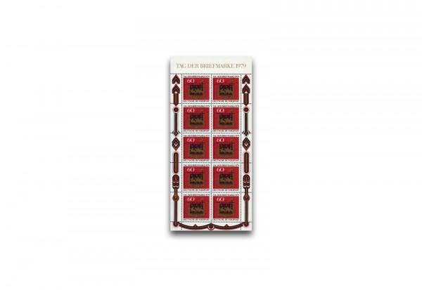 Briefmarke BRD Tag der Briefmarke Kleinbogen Michel-Nr. 1023 postfrisch