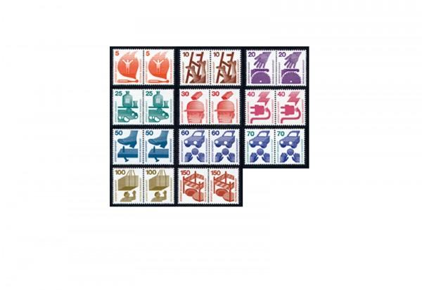 BRD Dauerserie Unfallverhütung - Mi.Nr. 694/703, 773 postfrisch