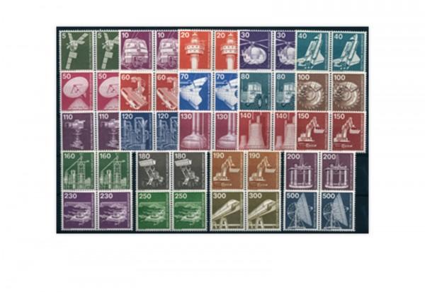 BRD Industrie und Technik 1975/1982 postfrisch