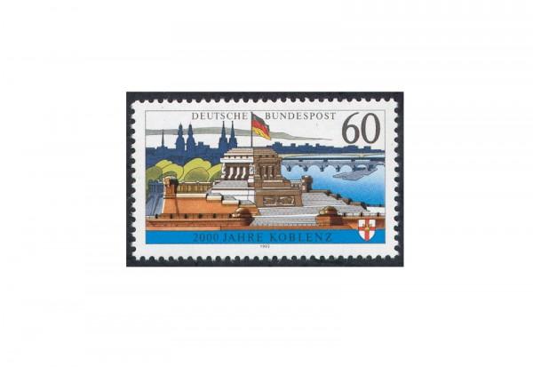 Briefmarke BRD Die weiße Koblenz 1992 Michel-Nr. 1583 x postfrisch