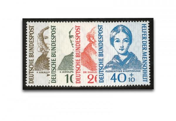 Briefmarken BRD Helfer der Menschheit 1955 Michel-Nr. 222-225 postfrisch