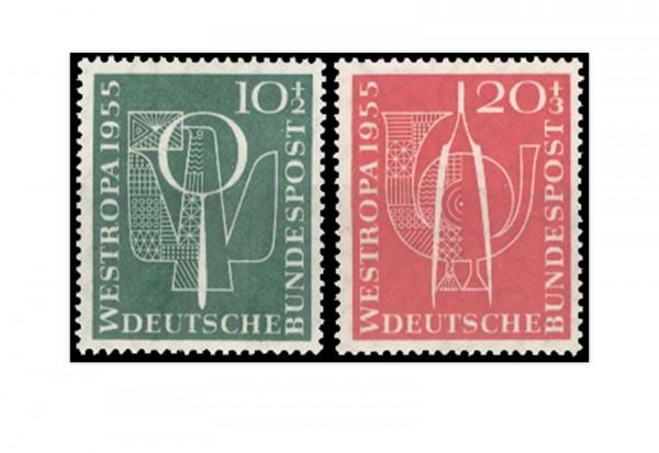 Briefmarken BRD Westeuropa 1955 Michel-Nr. 217-218 postfrisch