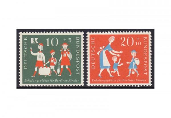 Briefmarken BRD Erholungsplätze für Berliner Kinder 1957 Michel-Nr. 250-251 postfrisch