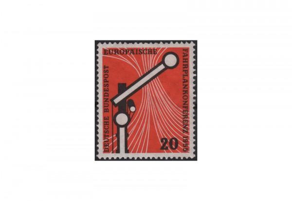 Briefmarke BRD Europäische Fahrplankonferenz Wiesbaden 1955 Michel-Nr. 219 postfrisch