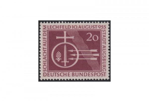 Briefmarke BRD 1000. Jahrestag der Schlacht auf dem Lechfeld Michel-Nr. 216 postfrisch