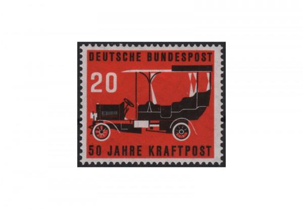 Briefmarke BRD 50 Jahre Kraftpost 1955 Michel-Nr. 211 postfrisch