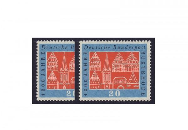 Briefmarke BRD Buxtehude 1959 Michel-Nr. 312 v+w postfrisch