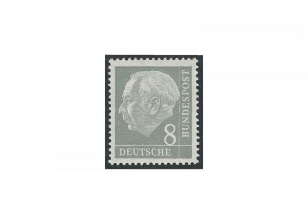 Briefmarke BRD Heuss liegendes Wasserzeichen 1954 Michel-Nr. 182 Y II postfrisch