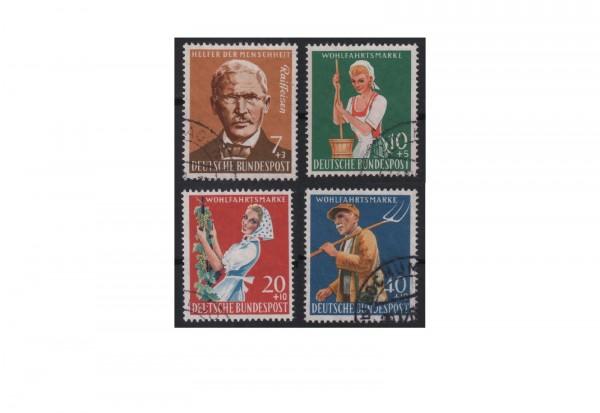 BRD Wohlfahrt: Landwirtschaft 1958 Mi.Nr. 297/300 gestempelt