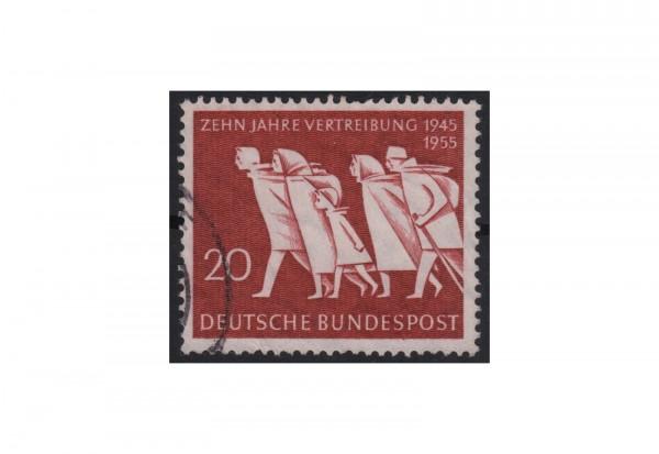 BRD 10 Jahre Vertreibung 1955 Mi.Nr. 215 gestempelt