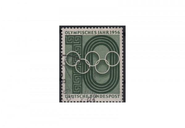 BRD Olympisches Jahr 1956 Mi.Nr. 231 gestempelt