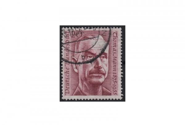BRD 1. Todestag von Thomas Mann 1956 Mi.Nr. 237 gestempelt