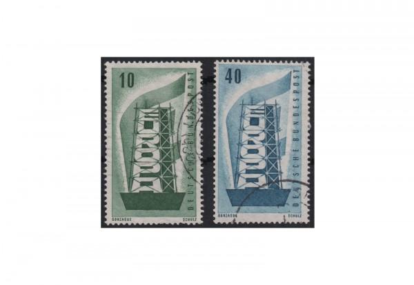 BRD Europa 1956 Mi.Nr. 241-242 gestempelt