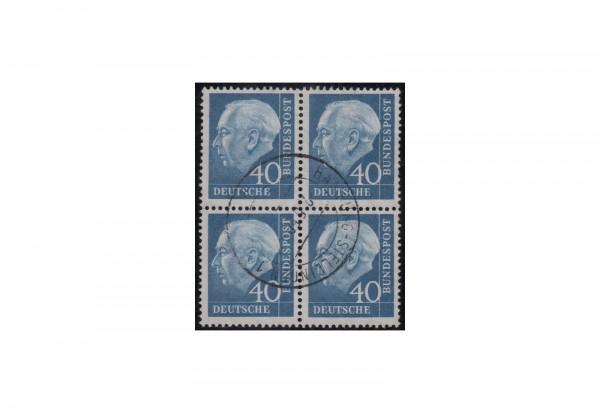 BRD Viererblock Michel-Nr. 260 gestempelt