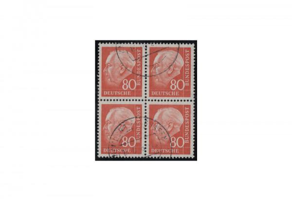 BRD 80 Pfennig Viererblock Michel-Nr. 264 gestempelt