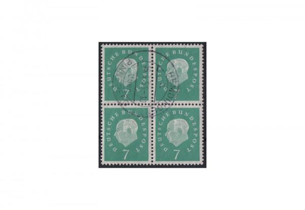 BRD Viererblock Michel-Nr. 302 gestempelt