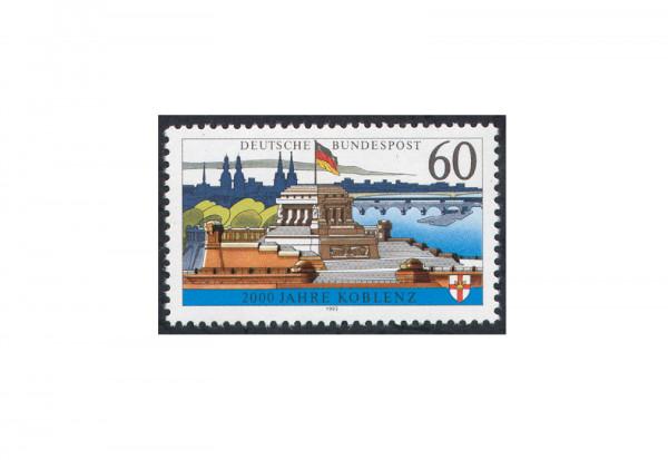 BRD Die weiße Koblenz 1992 Michel Nr. 1583 x gestempelt