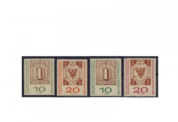 Briefmarken BRD Interposta 1959 Michel-Nr. 310-311 a+b gestempelt