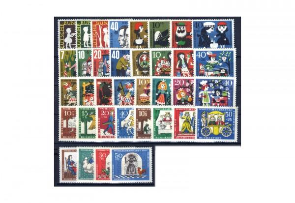 Briefmarken BRD Grimms Märchen Michel-Nr. I-IX postfrisch