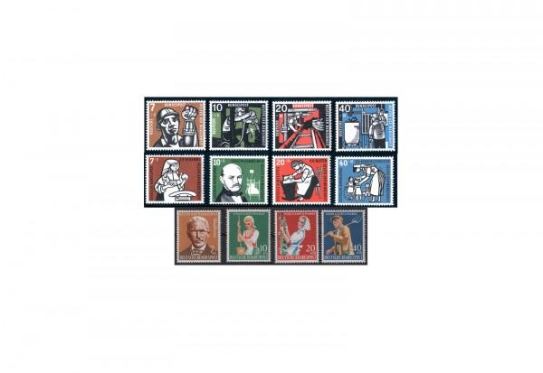 BRD Wohlfahrt 1956 bis 1958 Michel Nr. 243/246, 270/273 und 297/300 postfrisch