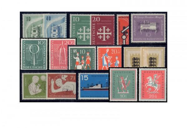 Briefmarken BRD 50er Jahre Lot postfrisch