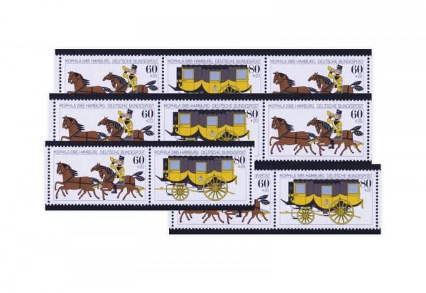BRD Michel-Nr. W Zd 5 bis W Zd 8 Mophila 1985 postfrisch