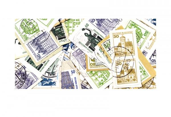 BRD Briefmarken 100g Heftchenmarken