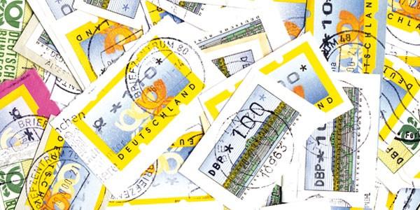 BRD Briefmarken 100g Automatenmarken