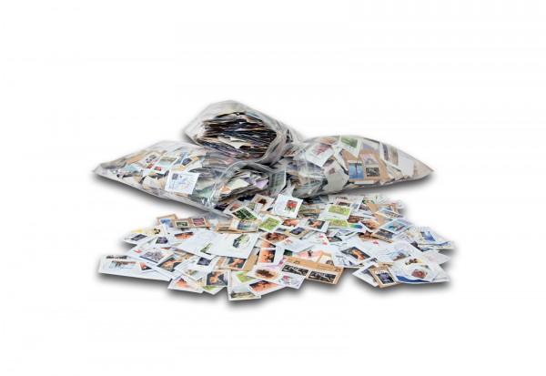 Briefmarken BRD Kiloware 2000 g mit Plattenfehlerkatalog