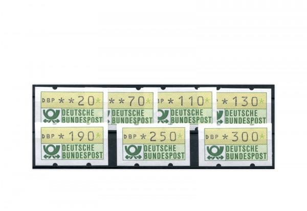 BRD ATM 1.1.VS 2 postfrisch 7 Werte