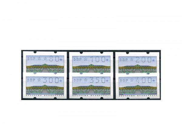 BRD ATM 2.1.1. VS 1 postfrisch 6 Werte