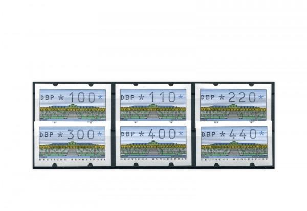 BRD ATM 2.1.1. VS 3 postfrisch 6 Werte