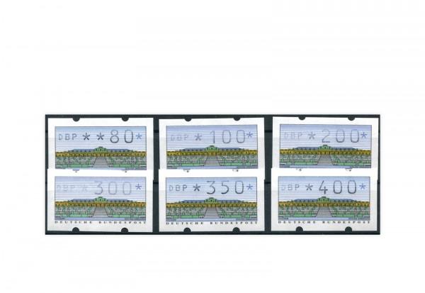 BRD ATM 2.1.2. VS 1 postfrisch 6 Werte