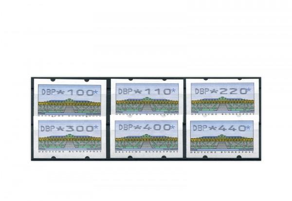 BRD ATM 2.2.1. VS 4 postfrisch 6 Werte